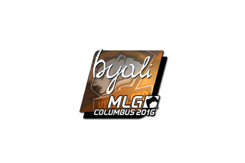Buy Sticker | byali (Foil) | MLG Columbus 2016