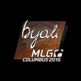 byali   MLG Columbus 2016