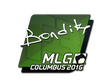 Sticker bondik | MLG Columbus 2016