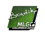 Skin Sticker | bondik | MLG Columbus 2016