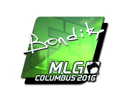 Sticker | bondik (Foil) | MLG Columbus 2016
