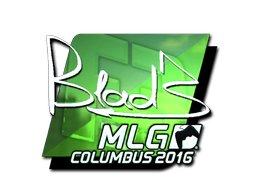 Sticker | B1ad3 (Foil) | MLG Columbus 2016