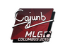 Skin Sticker | cajunb | MLG Columbus 2016