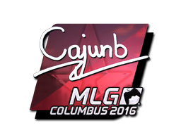 Sticker | cajunb (Foil) | MLG Columbus 2016