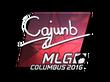 Sticker cajunb (Foil) | MLG Columbus 2016