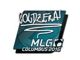 Sticker | coldzera | MLG Columbus 2016