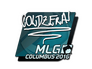 Skin Sticker | coldzera | MLG Columbus 2016