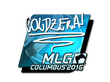 Sticker coldzera (Foil) | MLG Columbus 2016