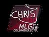 Sticker   chrisJ   MLG Columbus 2016