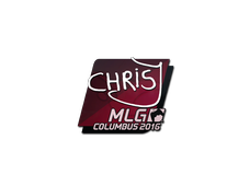 Skin Sticker | chrisJ | MLG Columbus 2016