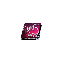 Sticker | chrisJ (Foil) | MLG Columbus 2016