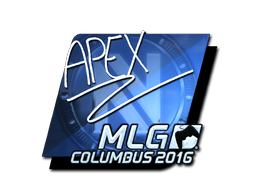 Sticker | apEX (Foil) | MLG Columbus 2016