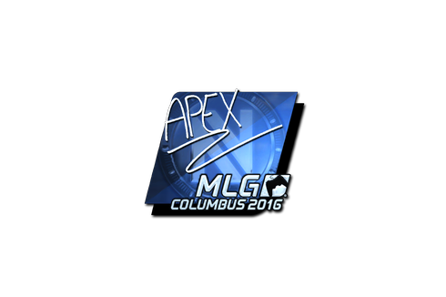 Sticker | apEX (Foil) | MLG Columbus 2016 Prices