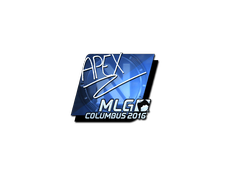 Skin Sticker | apEX (Foil) | MLG Columbus 2016