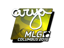 Sticker | arya (Foil) | MLG Columbus 2016