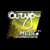Sticker | arya <br>(Foil) | MLG Columbus 2016