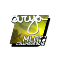 Sticker | arya <br>(Foil) | MLG Columbus 2016