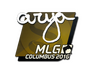 Skin Sticker | arya | MLG Columbus 2016