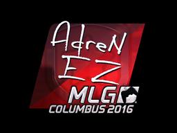 Sticker | AdreN (Foil)  | MLG Columbus 2016