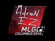 Sticker AdreN (Foil)    MLG Columbus 2016