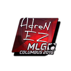 Sticker | AdreN (Foil)  | MLG Columbus 2016