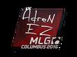 Sticker AdreN    MLG Columbus 2016