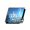 Sticker | adreN <br>(Foil) | MLG Columbus 2016