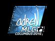 Sticker adreN (Foil) | MLG Columbus 2016