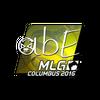 Sticker | abE <br>(Foil) | MLG Columbus 2016