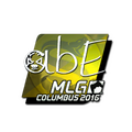 Sticker | abE <br>(Foil) | MLG Columbus 2016