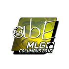 Sticker | abE (Foil) | MLG Columbus 2016