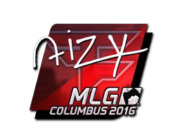 Sticker | aizy (Foil) | MLG Columbus 2016