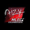Sticker | aizy <br>(Foil) | MLG Columbus 2016