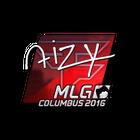 Sticker | aizy (Foil) | MLG Columbus 2016