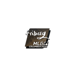 Sticker | friberg | MLG Columbus 2016