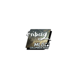 Sticker | friberg (Foil) | MLG Columbus 2016