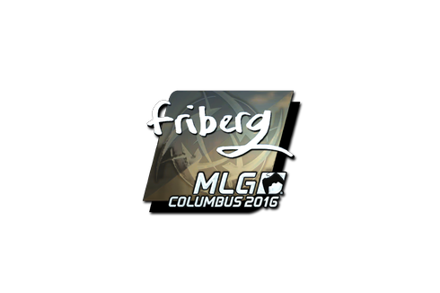 Buy Sticker | friberg (Foil) | MLG Columbus 2016