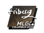 Skin Sticker | friberg | MLG Columbus 2016