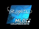 Sticker   freakazoid (Foil)   MLG Columbus 2016