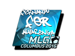Sticker | fer (Foil) | MLG Columbus 2016