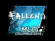 Sticker FalleN (Foil) | MLG Columbus 2016
