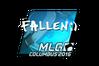 Sticker   FalleN (Foil)   MLG Columbus 2016
