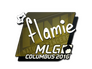 Skin Sticker | flamie | MLG Columbus 2016
