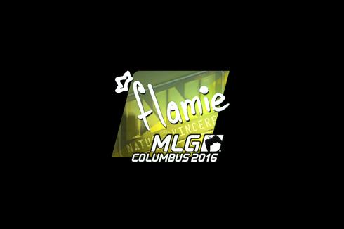 Sticker   flamie (Foil)   MLG Columbus 2016 Prices
