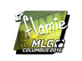 Skin Sticker | flamie (Foil) | MLG Columbus 2016