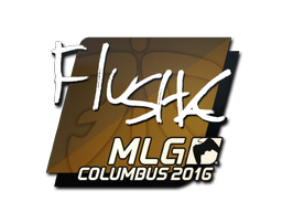 Sticker | flusha | MLG Columbus 2016