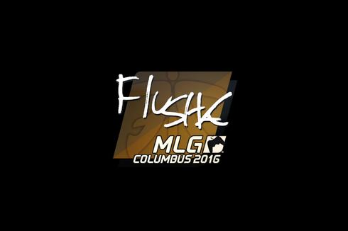Sticker | flusha | MLG Columbus 2016 Prices