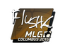 Skin Sticker | flusha | MLG Columbus 2016