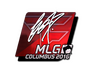 Skin Sticker | fox (Foil) | MLG Columbus 2016