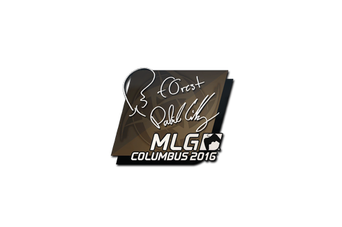 Sticker | f0rest | MLG Columbus 2016 Prices